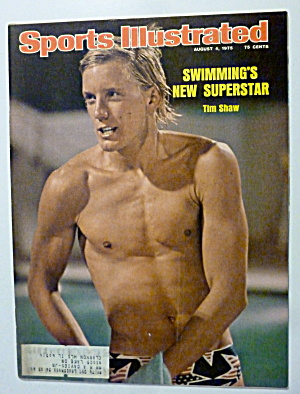 Sports Illustrated Magazine August 4, 1975 Tim Shaw