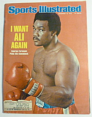 Sports Illustrated Magazine-december 15, 1975-foreman