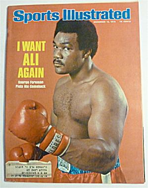 Sports Illustrated Magazine-December 15, 1975-Foreman (Image1)