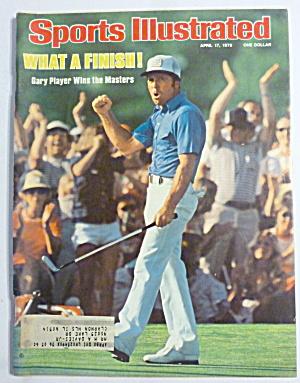 Sports Illustrated Magazine April 17, 1978 Gary Player  (Image1)