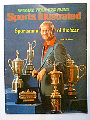 Sport Illustrated Magazine December 25, 1978 Nicklaus