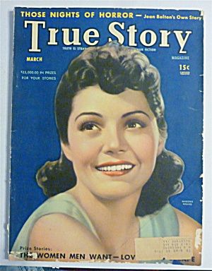 True Story Magazine March 1940 Marjorie Weaver