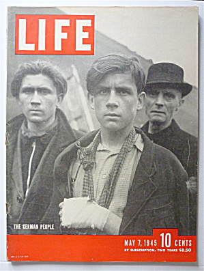 Life Magazine May 7, 1945 The German People  (Image1)