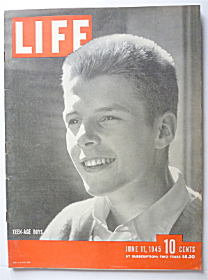 Life Magazine-June 11, 1945-Teen Age Boys  (Image1)