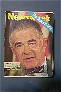 Newsweek Magazine - October 29, 1973 - Archibald  Cox (Image1)