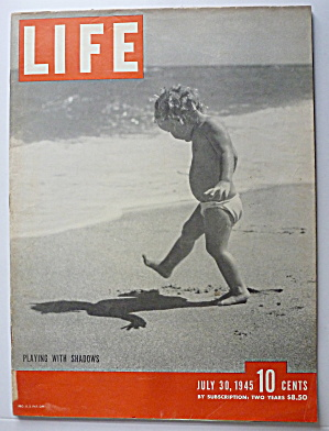 Life Magazine-July 30, 1945-Playing With Shadows (Image1)