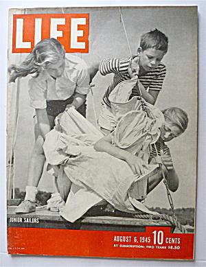 Life Magazine-August 6, 1945-Junior Sailors (Image1)