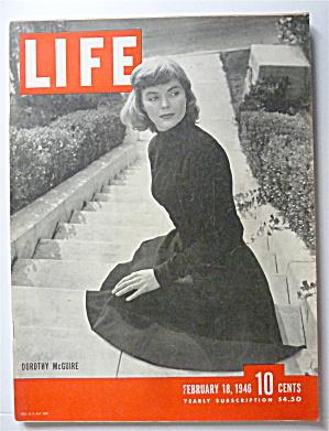 Life Magazine-February 18, 1946-Dorothy McGuire (Image1)