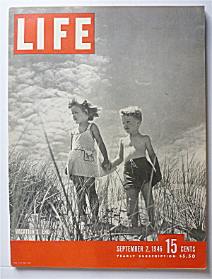 Life Magazine September 2, 1946 Vacation's End   (Image1)