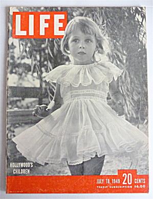 Life Magazine July 18, 1949 Hollywood's Children (Image1)