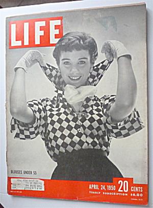 Life Magazine April 24, 1950 Blouses Under $5 (Image1)