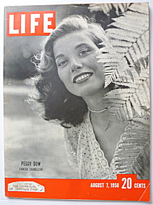 Life Magazine-August 7, 1950-Peggy Dow  (Image1)