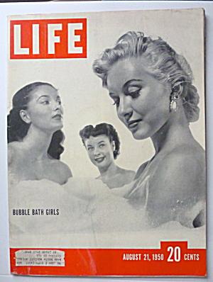 Life Magazine August 21, 1950 Bubble Bath Girls (Image1)