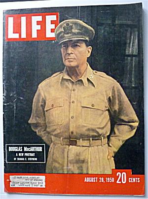 Life Magazine August 28, 1950 Douglas MacArthur  (Image1)