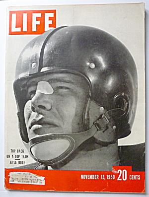Life Magazine-November 13, 1950-Kyle Rote (Image1)