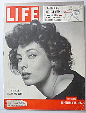 Life Magazine September 15, 1952 Rita Gam  (Image1)