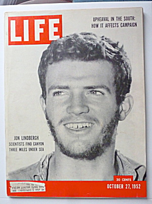 Life Magazine October 27, 1952 Jon Lindbergh