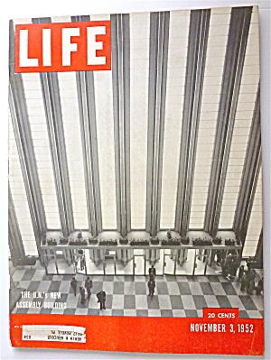 Life Magazine November 3, 1952 U.N.'s Assembly Building (Image1)