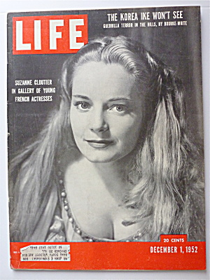 Life Magazine-december 1, 1952-suzanne Cloutier
