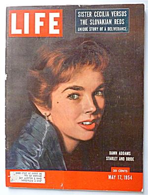 Life Magazine-May 17, 1954-Dawn Addams  (Image1)