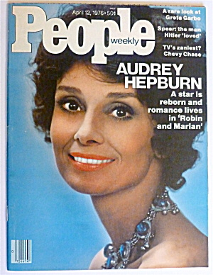People Weekly Magazine April 12, 1976 Audrey Hepburn