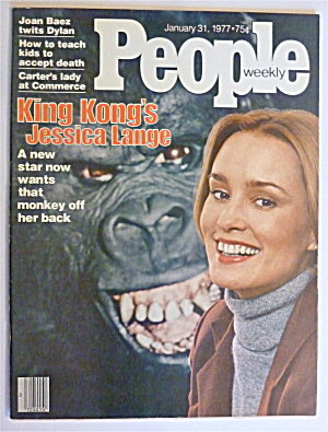 Buy people magazine - People Magazine January 31, 1977 King Kong\'s Jessica
