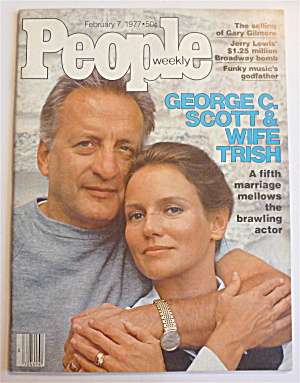 People Weekly Magazine February 7, 1977 George C Scott