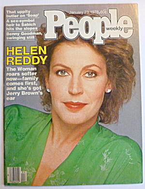 People Magazine January 23, 1978 Helen Reddy