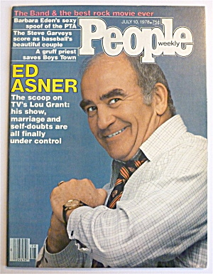 People Weekly Magazine July 10, 1978 Ed Asner