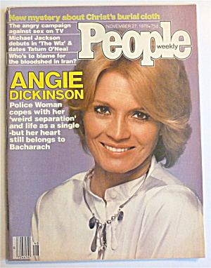 People Magazine November 27, 1978 Angie Dickinson