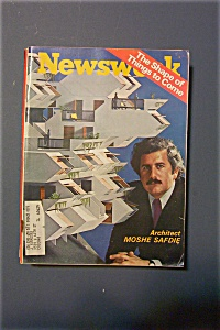 Newsweek Magazine - April 19, 1971 - Moshe Safdie