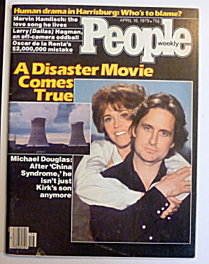 People Magazine April 16, 1979 J. Fonda & M. Douglas (Image1)