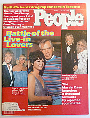 People Magazine May 7, 1979 Battle Of Live In Lovers  (Image1)