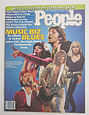 People Magazine September 10, 1979 Music Biz Blues
