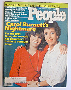 People Magazine October 1, 1979 Carol Burnett