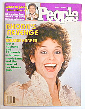 People Magazine June 2, 1980 Valerie Harper (Rhoda)