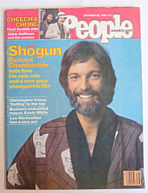 People Magazine September 22, 1980 Richard Chamberlain