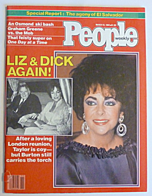 People Magazine March 15, 1982 Liz & Dick Again