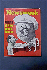 Newsweek Magazine - April 26, 1971 - China