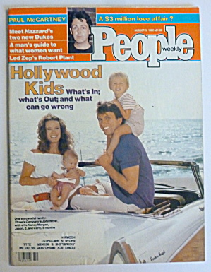 People Magazine August 9, 1982 John Ritter & Family