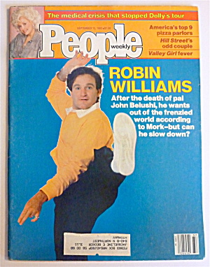 People Magazine September 13, 1982 Robin Williams