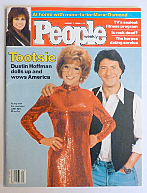People Magazine January 17, 1983 Tootsie