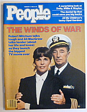 People Magazine February 14, 1983 Minds Of War  (Image1)