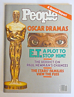 People Magazine April 4, 1983 Oscar Dramas