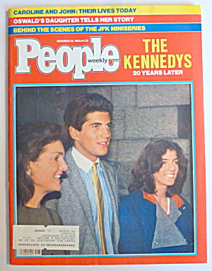 People Magazine November 28, 1983 The Kennedys