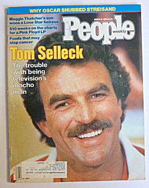 People Magazine March 12, 1984 Tom Selleck