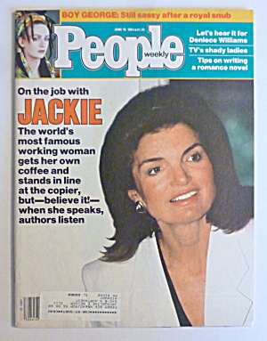People Magazine June 18, 1984 Jackie Onassis