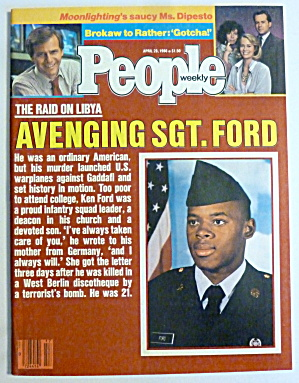 People Magazine April 28, 1986 Avenging Sgt. Ford