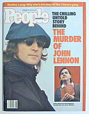 People Magazine February 23, 1987 John Lennon