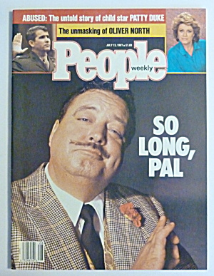People Magazine July 13, 1987 Jackie Gleason